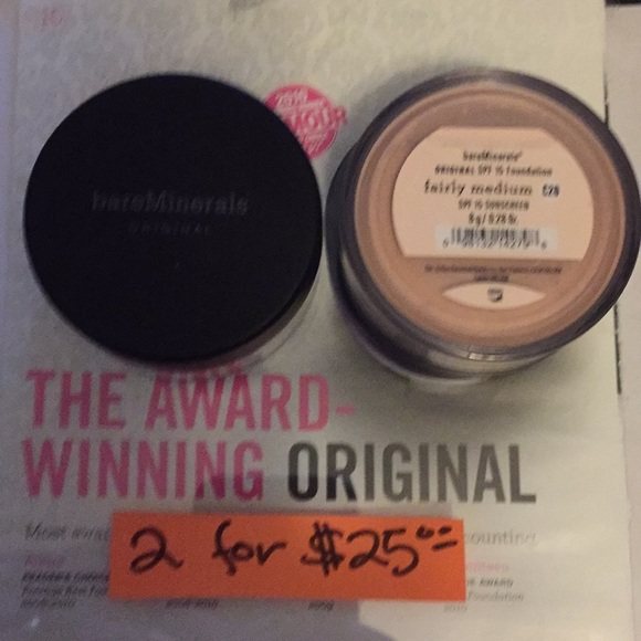 bareMinerals Other - Bare Mineral Foundation FAIRLY MEDIUM